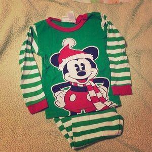 Santa Mickey Christmas Pajamas